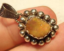19.38ct Blazing Welo Solid Opal Pendant