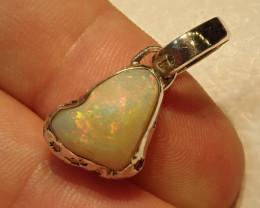 14.37ct Blazing Welo Solid Opal Pendant