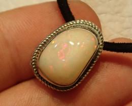 19.42ct Blazing Welo Solid Opal Pendant