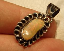 17.87ct Blazing Welo Solid Opal Pendant
