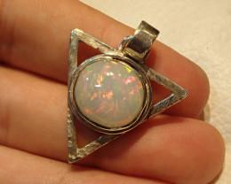 39.30ct Blazing Welo Solid Opal Pendant