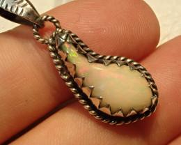 15.6ct Blazing Welo Solid Opal Pendant