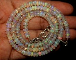 55 Crt Natural Ethiopian Welo Opal Necklace 194