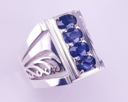 Natural Sapphire Ring.