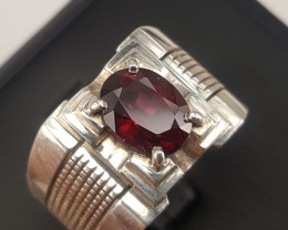 Natural Rodholite garnet Ring
