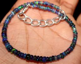 14 Crt Natural Ethiopian Welo Smoked Opal Bracelet 62