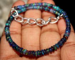 14 Crt Natural Ethiopian Welo Smoked Opal Bracelet 51