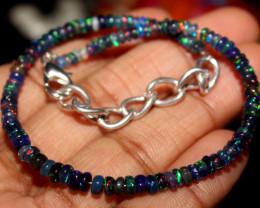 14 Crt Natural Ethiopian Welo Smoked Opal Bracelet 63