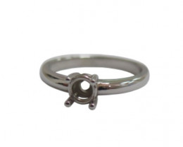 Semi Mount Rings | Diamonds, Halos, Plain | Silver, Gold, Platinum, Palladi