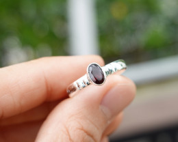 2.27g - 925 Sterling Silver Rings with Natural Stone / JW43