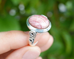 5.99g - 925 Sterling Silver Rings with Natural Stone / JW59