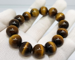 Natural Tiger Eye Bracelet 299.00 Carats