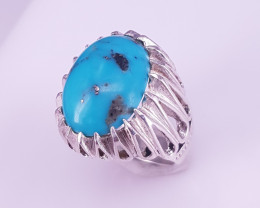 Natural Tarquse Ring.