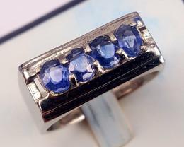 Natural Sapphire Men Ring