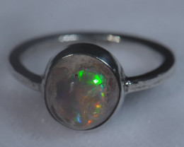 Coming Soon Do Not Bid Mexican Matrix Cantera Multicoloured Fire Opal Ring