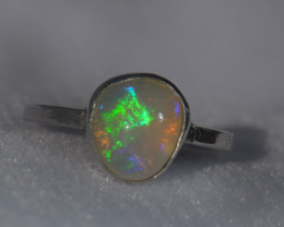 Coming Soon Do Not Bid Blazing Welo Solid Opal Ring