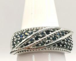 Blue Sapphire Ring 1.25 TCW