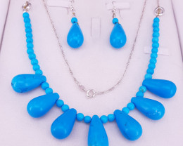 Natural Turquoise Necklace.