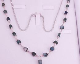 Natural Tourmaline Necklace.