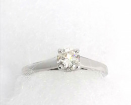 Diamond Solitaire Ring 0.45ct. - 14kt. Gold