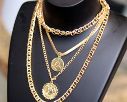 Bohemia Lightweight Gold necklace CCC 179