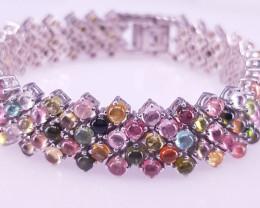 Fantastic Design Tourmaline Bracelet.