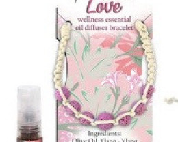 Ylang Ylang Wellness Oil Diffuser Lava stone Bracelet code WELLOIL