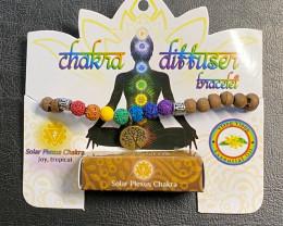 Sacral  Chakra Tree Of life lava Stone Ylang Ylang  Diffuser Bracelet Code