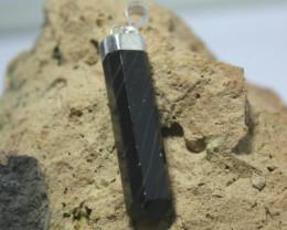 Natural Calcite Pendant.