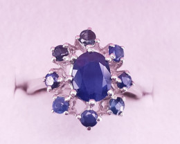 Lovely Styile Sapphire Ring.