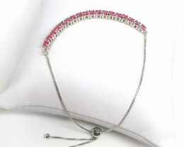 Ruby Bolo Bracelet 1.00 TCW