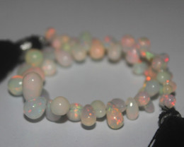 33 Crts Natural Ethiopian Welo Opal Teardrops For Jewelry Use 29