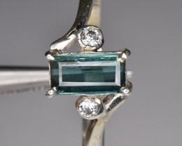 9.70 Caret Beautiful Natural Tourmaline Ring