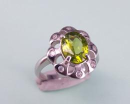 New Style Peridot Ring