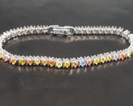 Amazing Sapphire Bracelet