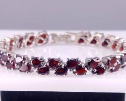 Amazing Natural Garnet Bracelet.