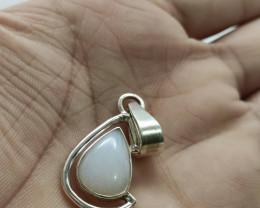 Silver pendant size P - drop shape