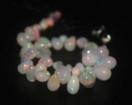 40 Crts Natural Ethiopian Welo Opal Teardrops 52
