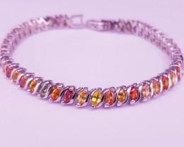 Fantastic Design Sapphire Bracelet