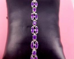 New Design Natural Amethyst Bracelet