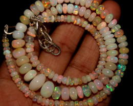 71 Crt Natural Ethiopian Welo Opal Necklace 415