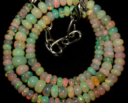 55 Crt Natural Ethiopian Welo Opal Necklace 410