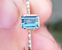 Flawless Natural Tourmaline Ring.