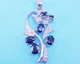 Lovely Style Sapphire Pendant
