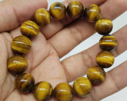 Natural Tiger Eye Bracelet 295.00 Carats