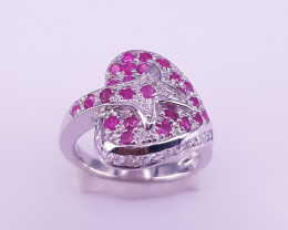 New Style Ruby Ring