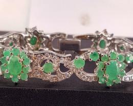 Beautiful Emerald Bracelet.