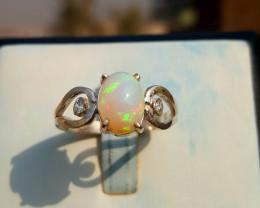 Beautiful Natural Opal Ring.