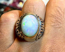 Natural Opal men Ring.