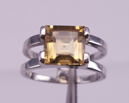Natural Citrine Gorgoues Ring